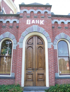 Original Bank Entrance